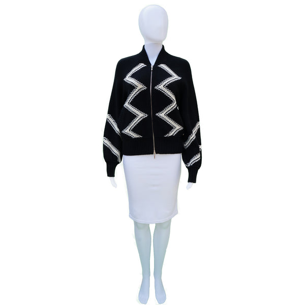 CHANEL 2016 WOOL CASHMERE SWEATER CARDIGAN JACKET