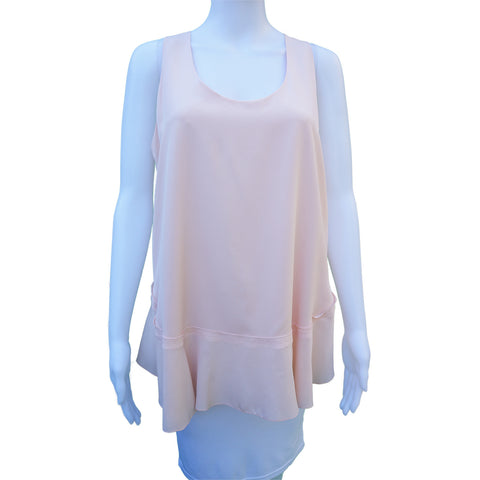 CHLOÉ SILK RUFFLED TOP Shop the best value on authentic designer resale consignment on Leef Luxury.