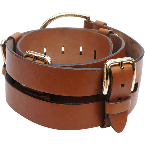 DOLCE & GABBANA LEATHER WIDE BELT Shop the best value on authentic designer resale consignment on Leef Luxury.