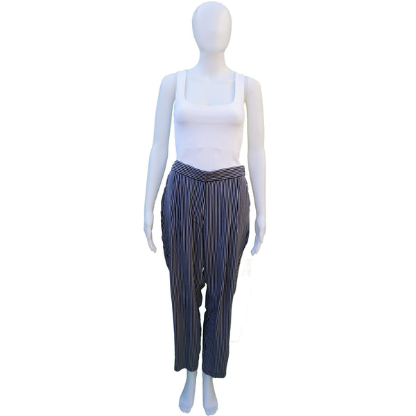 EQUIPMENT SILK HIGH-RISE PANTS