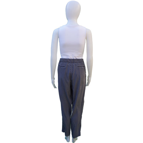 EQUIPMENT SILK HIGH-RISE PANTS Shop the best value on authentic designer resale consignment on Leef Luxury.
