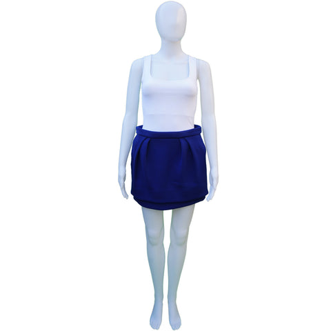 MAJE MINI PLEATED SKIRT - leefluxury.com