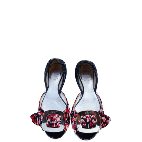 ROGER VIVIER BUCKLE D'ORSAY FLATS Shop the best value on authentic designer resale consignment on Leef Luxury