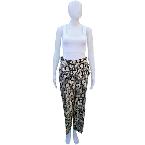STELLA MCCARTNEY SILK HIGH-RISE PANTS NEW WITH TAGS Shop the best value on authentic designer resale consignment on Leef Luxury.