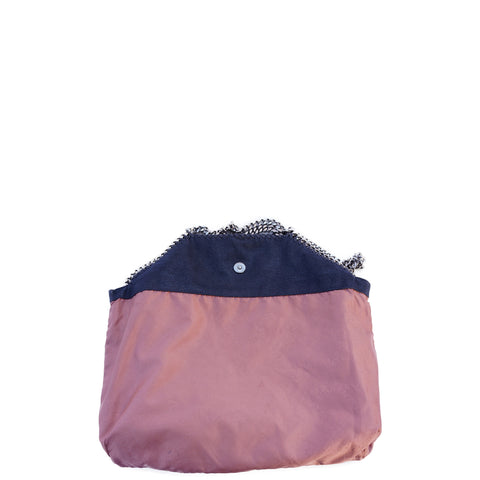 STELLA MCCARTNEY SHAGGY DEER FALABELLA FOLD-OVER TOTE - leefluxury.com
