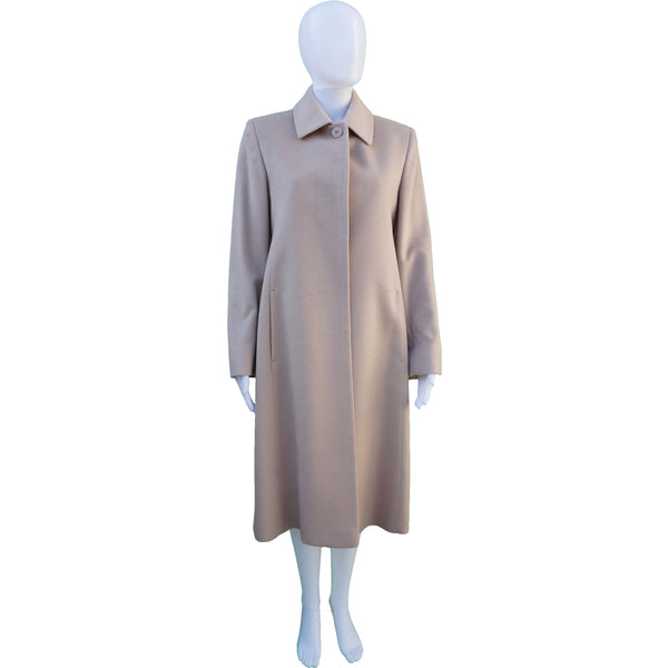 LORO PIANA FOR HOLT RENFREW CASHMERE LONG COAT
