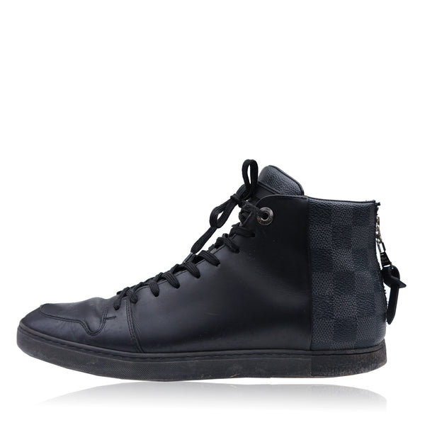 LOUIS VUITTON DAMIER LINE UP SNEAKER HIGH TOP SNEAKER