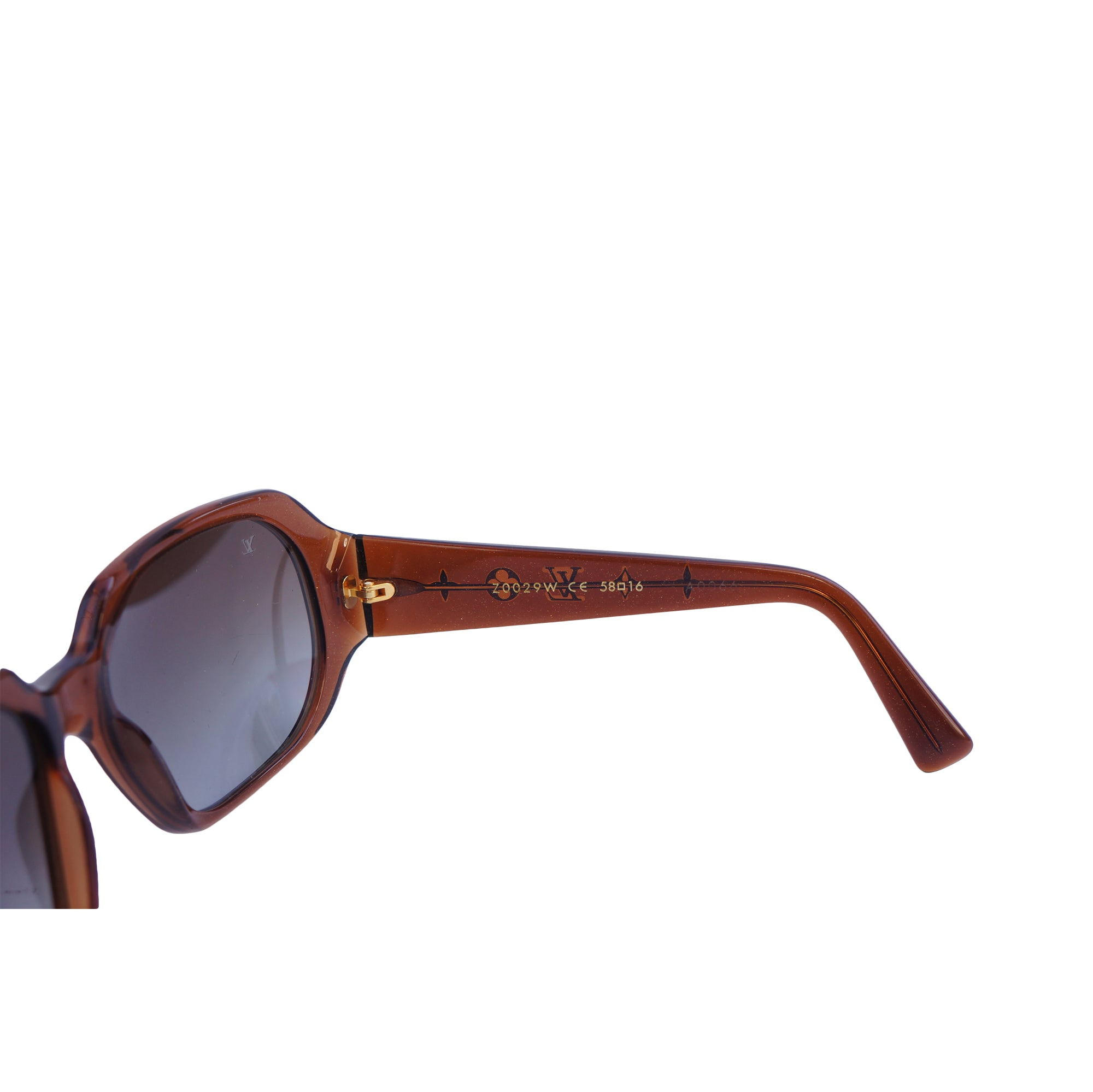 7464893a05 ... LOUIS VUITTON OBSESSION CARRÉ SUNGLASSES Shop online the best value on authentic  designer used preowned consignment ...