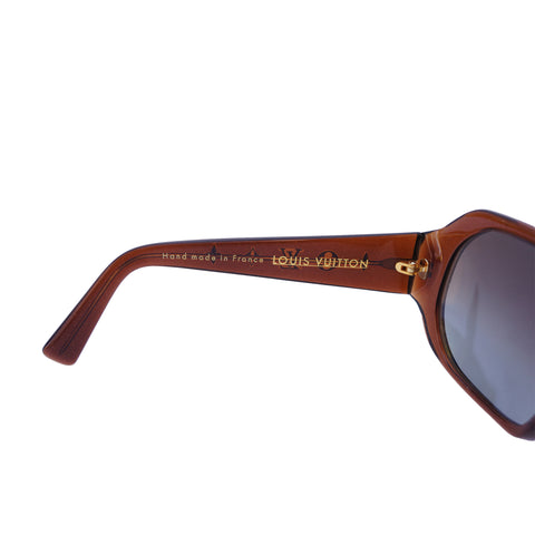 LOUIS VUITTON OBSESSION CARRÉ SUNGLASSES Shop online the best value on authentic designer used preowned consignment on Leef Luxury.