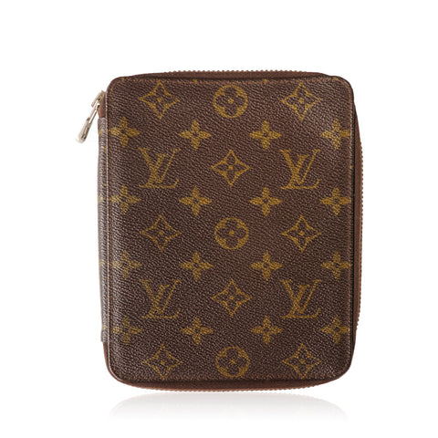 LOUIS VUITTON MONOGRAM PASSPORT TRAVEL AGENDA - leefluxury.com