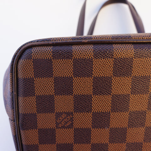 LOUIS VUITTON DAMIER EBENE WESTMINSTER PM BAGShop online the best value on authentic designer used preowned consignment on Leef Luxury.