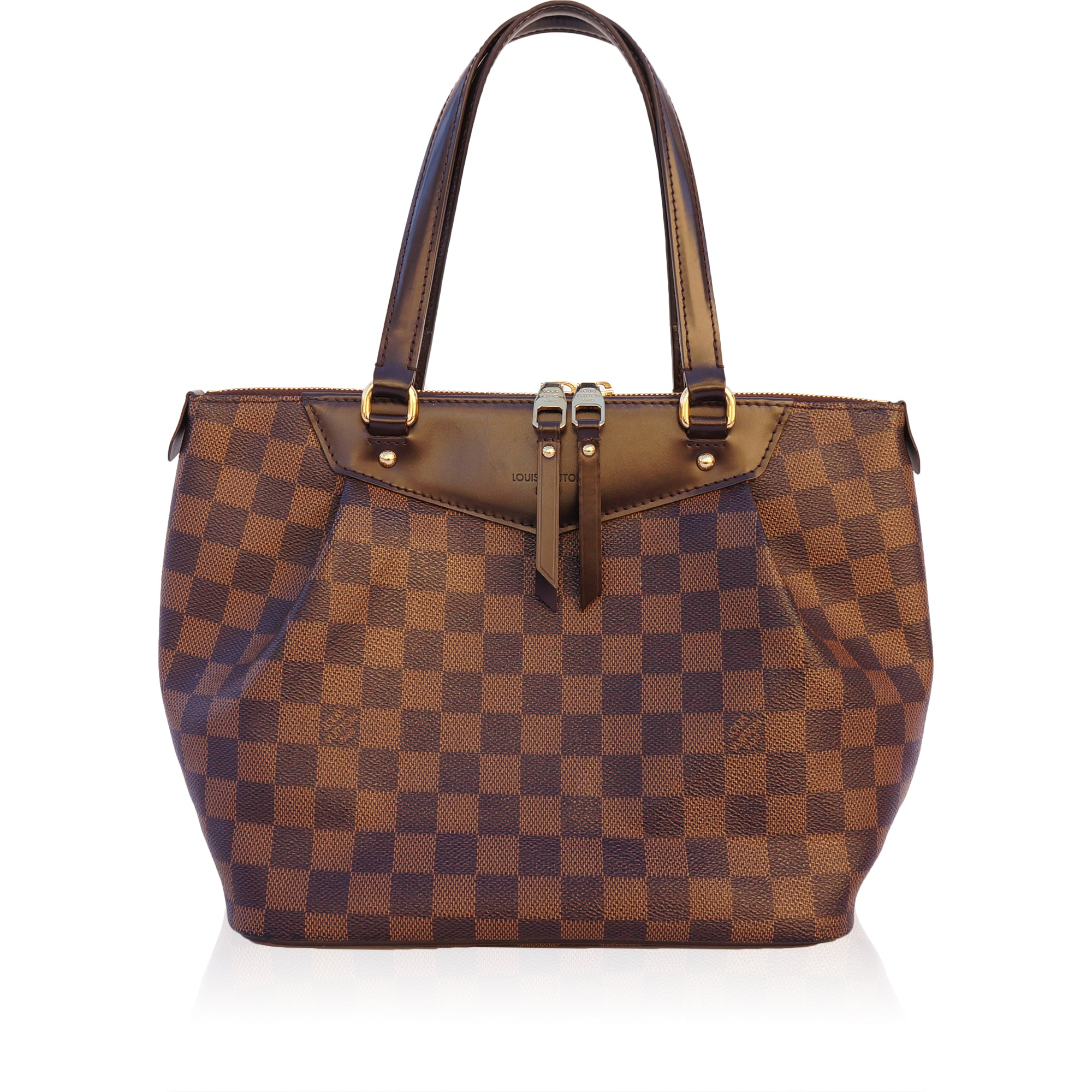 aa17bbeae47d LOUIS VUITTON DAMIER EBENE WESTMINSTER PM BAGShop online the best value on  authentic designer used preowned ...