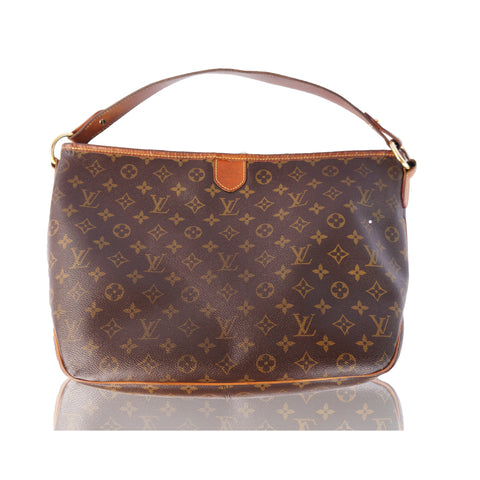 LOUIS VUITTON MONOGRAM DELIGHTFUL PM HOBO SHOULDER BAG - leefluxury.com