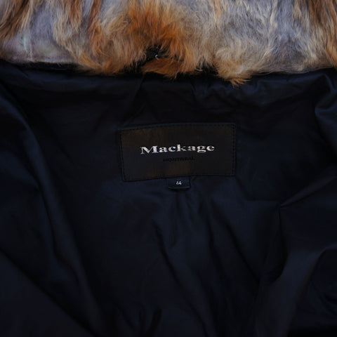 MACKAGE DIXON DOWN BOMBER PUFFER JACKET WITH REMOVABLE HOOD AND BIB - leefluxury.com