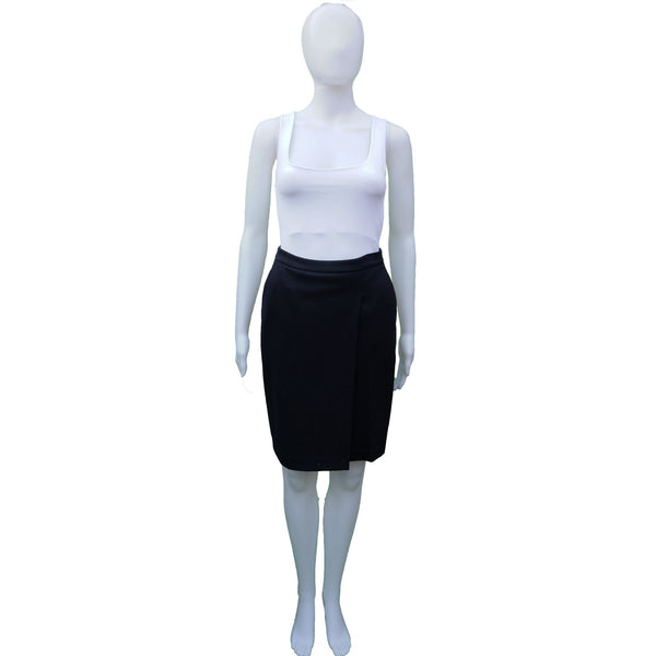 MAXMARA NAVY WOOL SKIRT