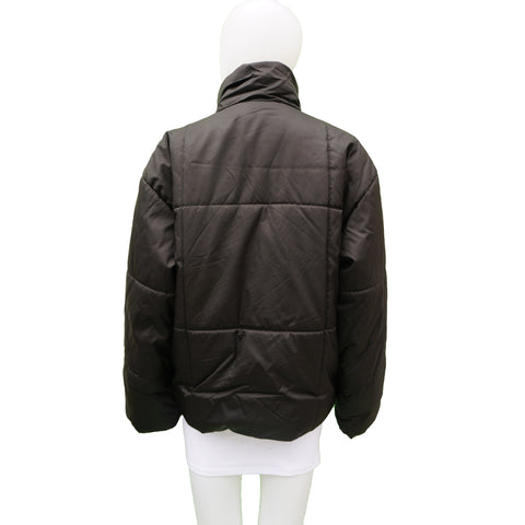 MONDI BLACK PUFFER COAT Shop online the best value on authentic designer used preowned consignment on Leef Luxury.