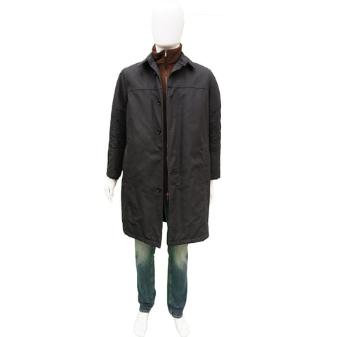 PAL ZILERI TWO IN ONE TRENCH COAT - leefluxury.com