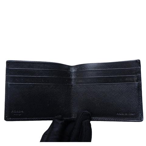 PRADA SAFFIANO BIFOLD LEATHER WALLET