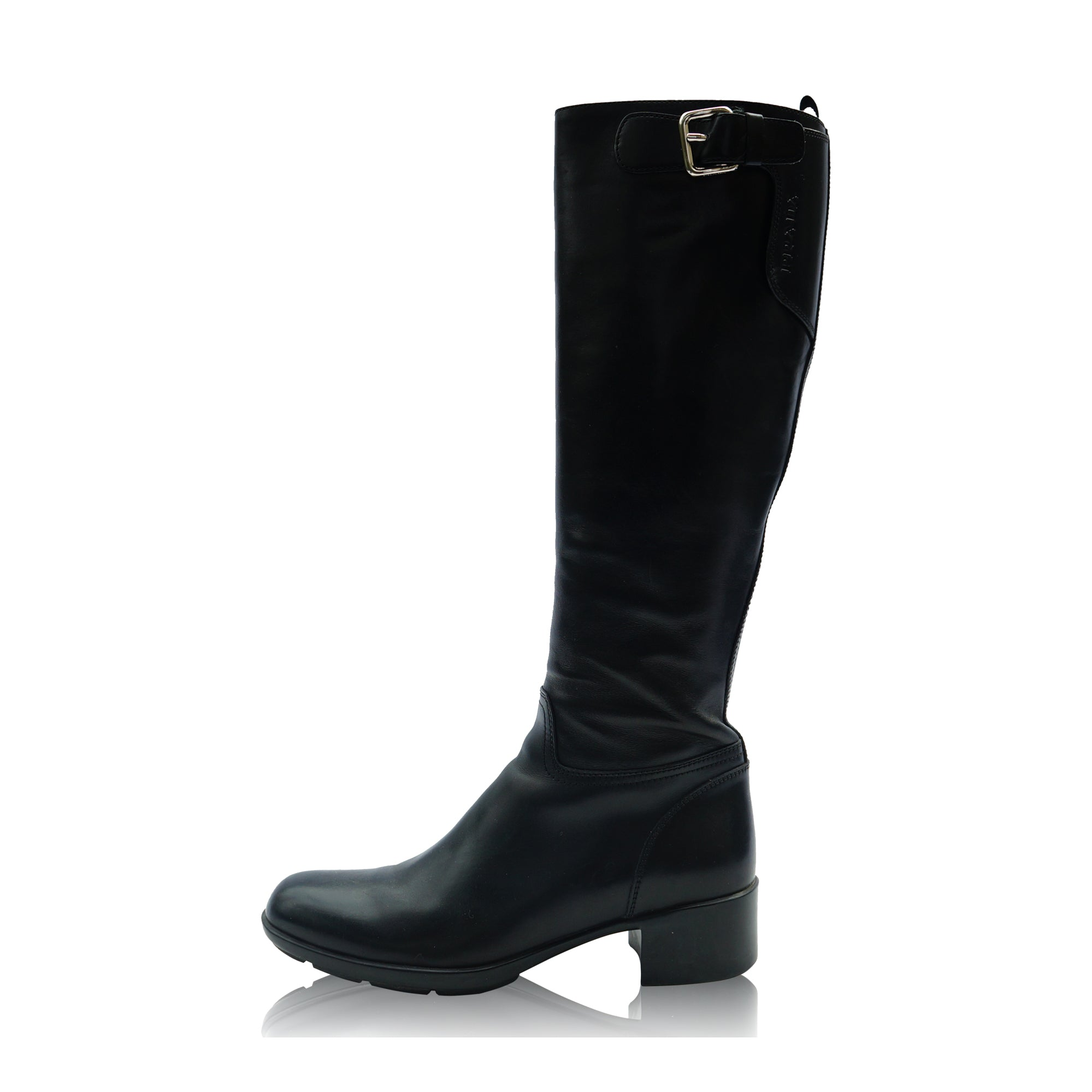 8ad9f9bb3 PRADA SPORT KNEE HIGH RIDING STYLE BOOT Shop online the best value on  authentic designer used ...