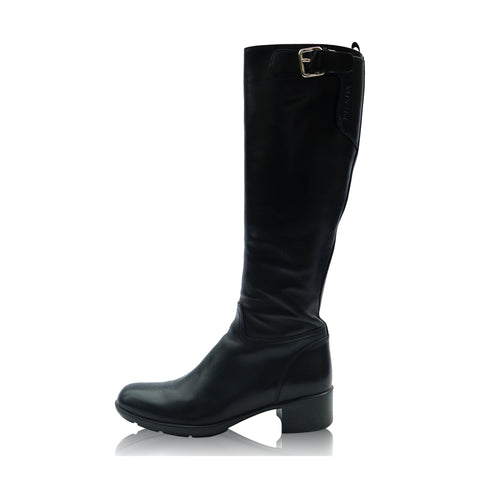PRADA SPORT KNEE HIGH RIDING STYLE BOOT - leefluxury.com
