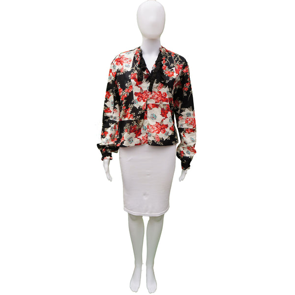 RAG & BONE FLORAL BLOUSE  TOP