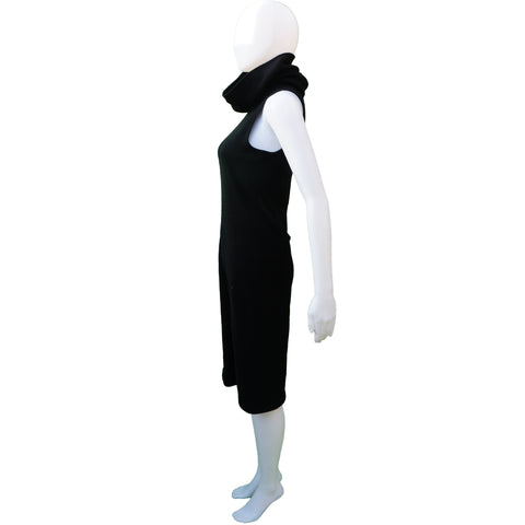 Ralph Lauren Black Label Cashmere Sleeveless Dress - leefluxury.com