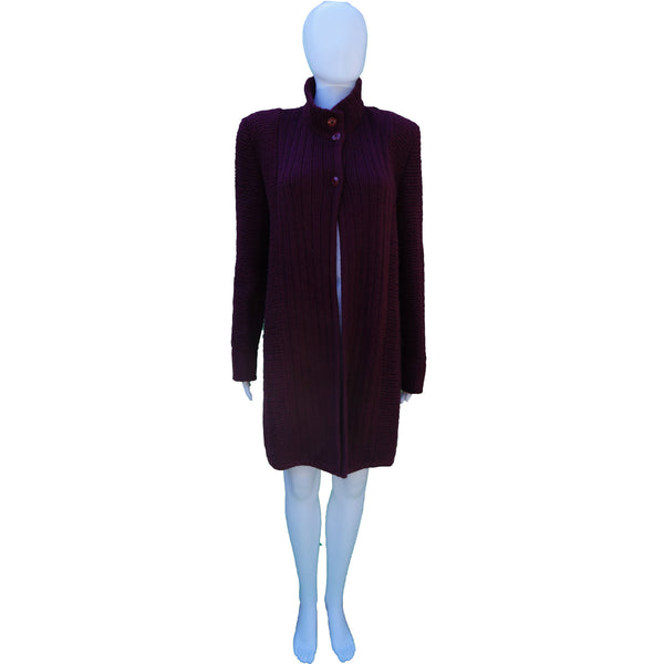 SALVATORE FERRAGAMO VINTAGE KNIT COAT