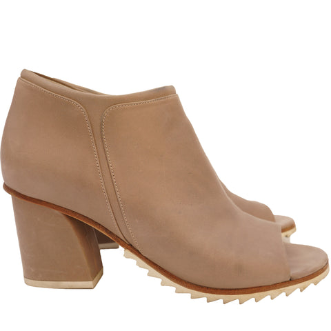 STEPHANE KÉLIAN LEATHER ANKLE BOOT Shop online the best value on authentic designer used preowned consignment on Leef Luxury.