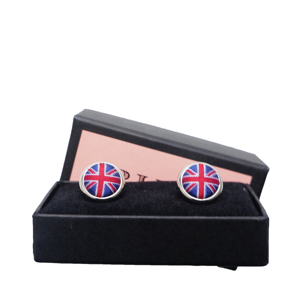 THOMAS PINK UNION JACK CUFFLINKS