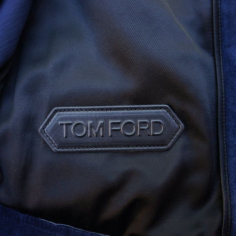 TOM FORD SUEDE UTILITY JACKET