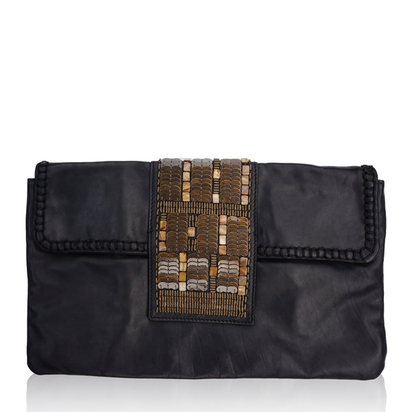 UTEREQUE OVERSIZED CLUTCH BAG