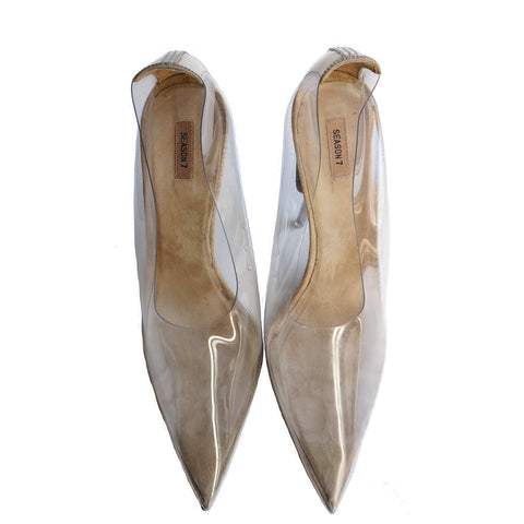 YEEZY SEASON 7 PVC PUMPS - leefluxury.com