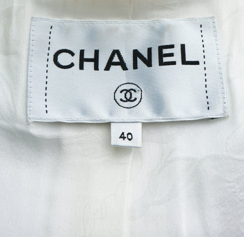 CRUISE 2018 CHANEL PARIS-ATHENS LA MODERNITE DE L'ANTIQUITE TWEED JACKET  Shop online the best value on authentic designer used preowned consignment on Leef Luxury.