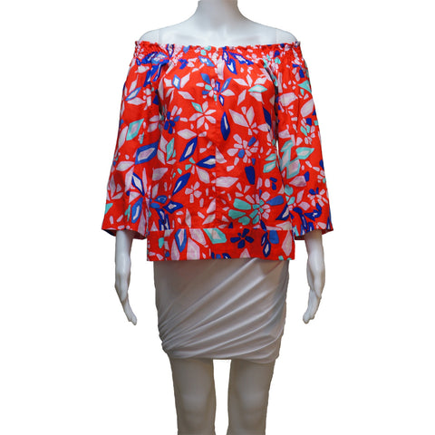 DIANE VON FURSTENBERG OFF THE SHOULDER TOP - leefluxury.com