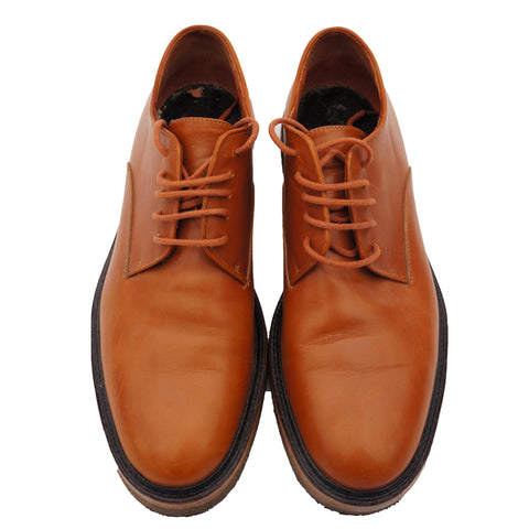 DRIES VAN NOTEN LEATHER LACE-UP OXFORDS SHOES