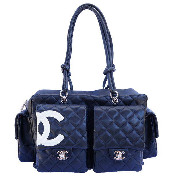 CHANEL LIGNE CAMBON LARGE REPORTER BAG