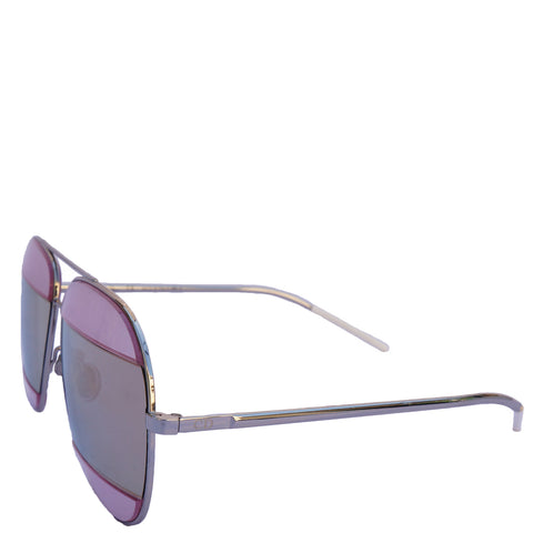 CHRISTIAN DIOR SPLIT 1 AVIATOR SUNGLASSES - leefluxury.com