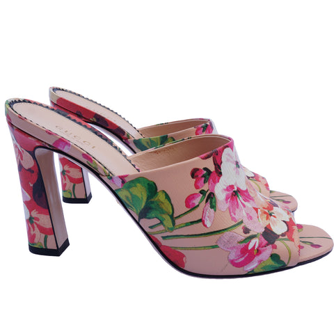 GUCCI SHANGHAI BLOOMS SANDALS Shop the best value on authentic designer resale consignment on Leef Luxury.