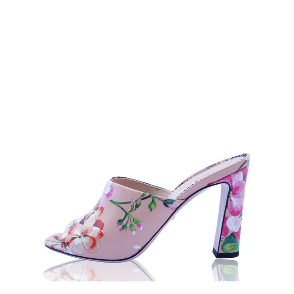 GUCCI SHANGHAI BLOOMS SANDALS