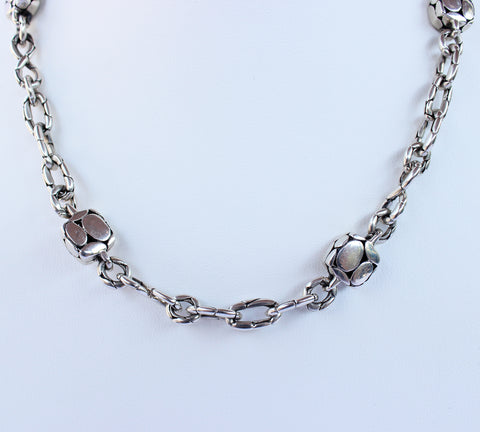JOHN HARDY KALI SQUARE STATION NECKLACE - leefluxury.com