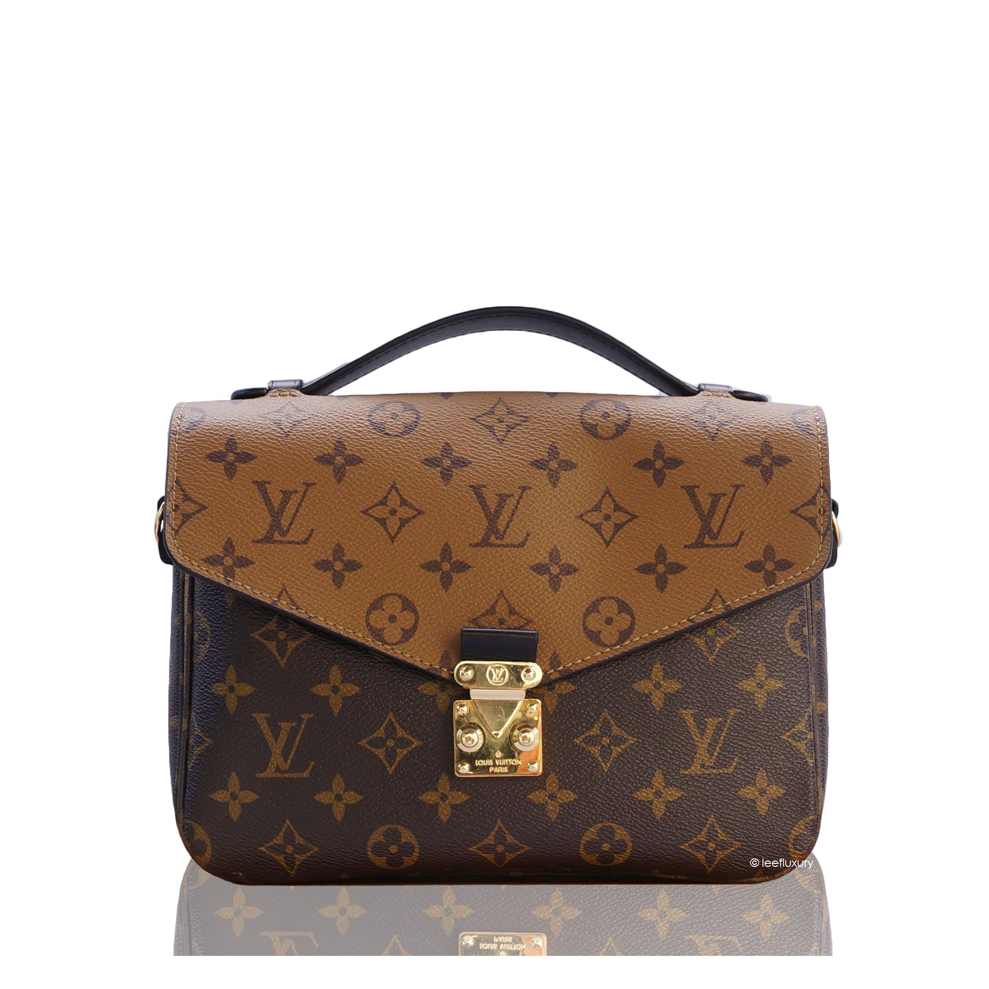 e6c3944b4aab LOUIS VUITTON REVERSE MONOGRAM METIS POCHETTE Shop the best value on  authentic designer resale consignment on ...