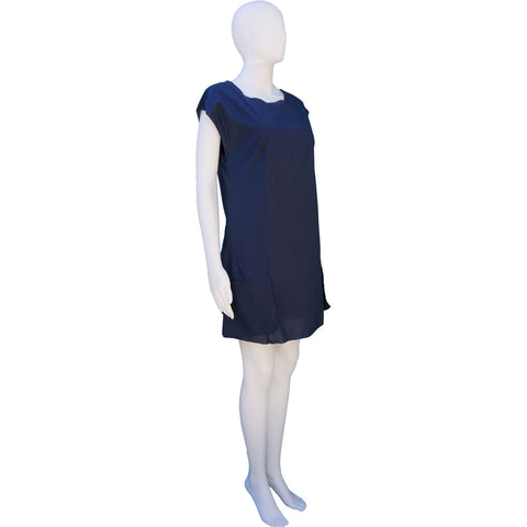 3.1 PHILLIP LIM SLEEVLESS DRESS WITH RUFFLE ACCENT on Leef luxury authentic designer resale consignment