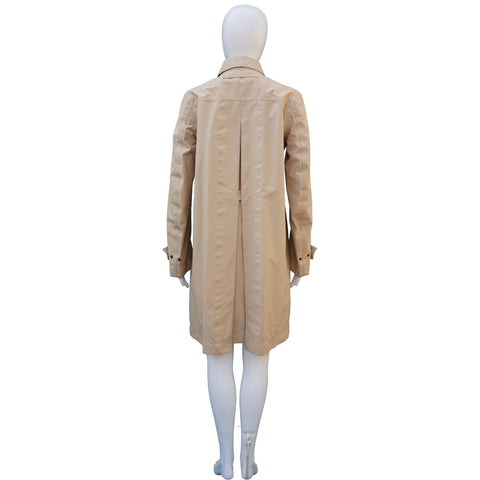 PRADA SPORT TAN RAINCOAT on Leef luxury authentic designer resale consignment