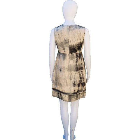 STELLA MCCARTNEY SILK PRINTED DRESS on Leef luxury authentic designer resale consignment