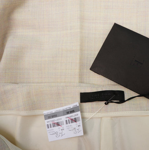 THE ROW WOOL CROPPED PANTS NEW WITH TAGS on Leef luxury authentic designer resale consignment