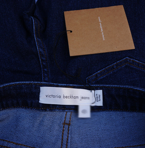 VICTORIA BECKHAM HIGH-RISE SKINNY JEANS NEW WITH TAGS SIZE 30 - leefluxury.com
