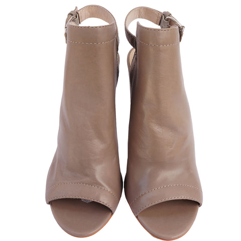 VINCE CAMUTO SLINGBACK PEEP-TOE BOOTS NEW WITH TAGS on Leef luxury authentic designer resale consignment