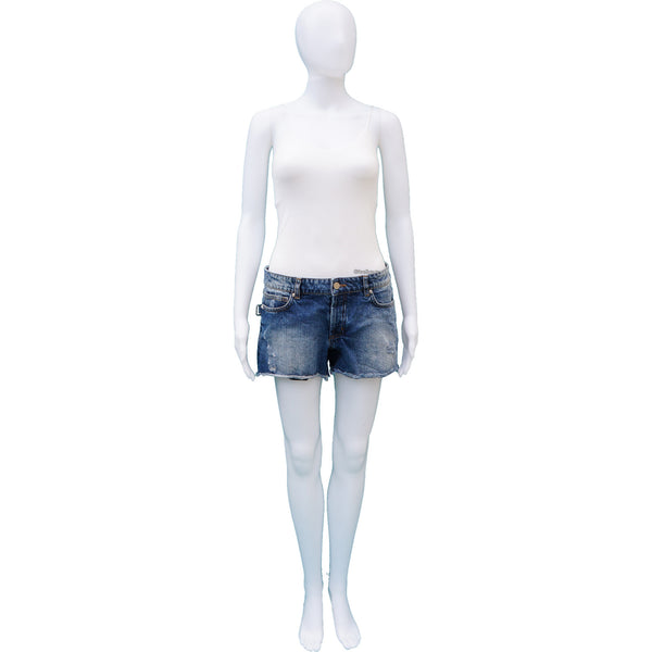 ZADIG & VOLTAIRE DISTRESSED DENIM SHORTS