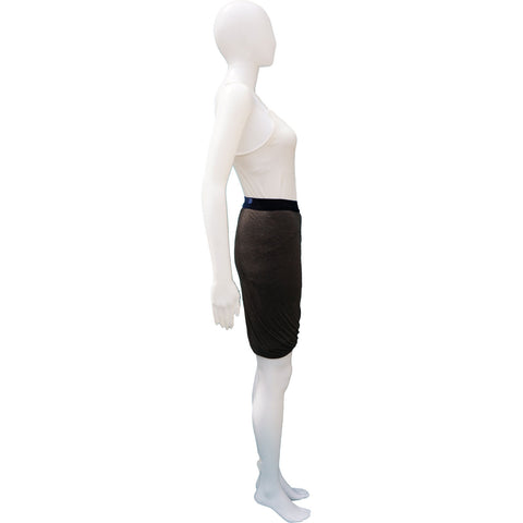 T BY ALEXANDER WANG BUBBLE HEM KNEE-LENGTH SKIRT On Leef luxury authentic designer resale consignment