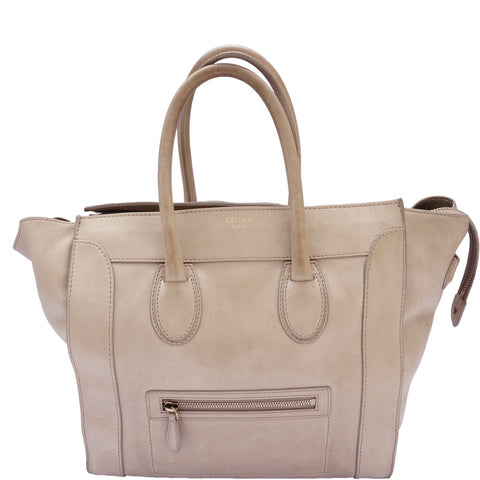 CÉLINE PHOEBE PHILO LARGE LUGGAGE TOTE - leefluxury.com